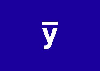 Logo y barre utilisé par youse pour les réseaux sociaux.